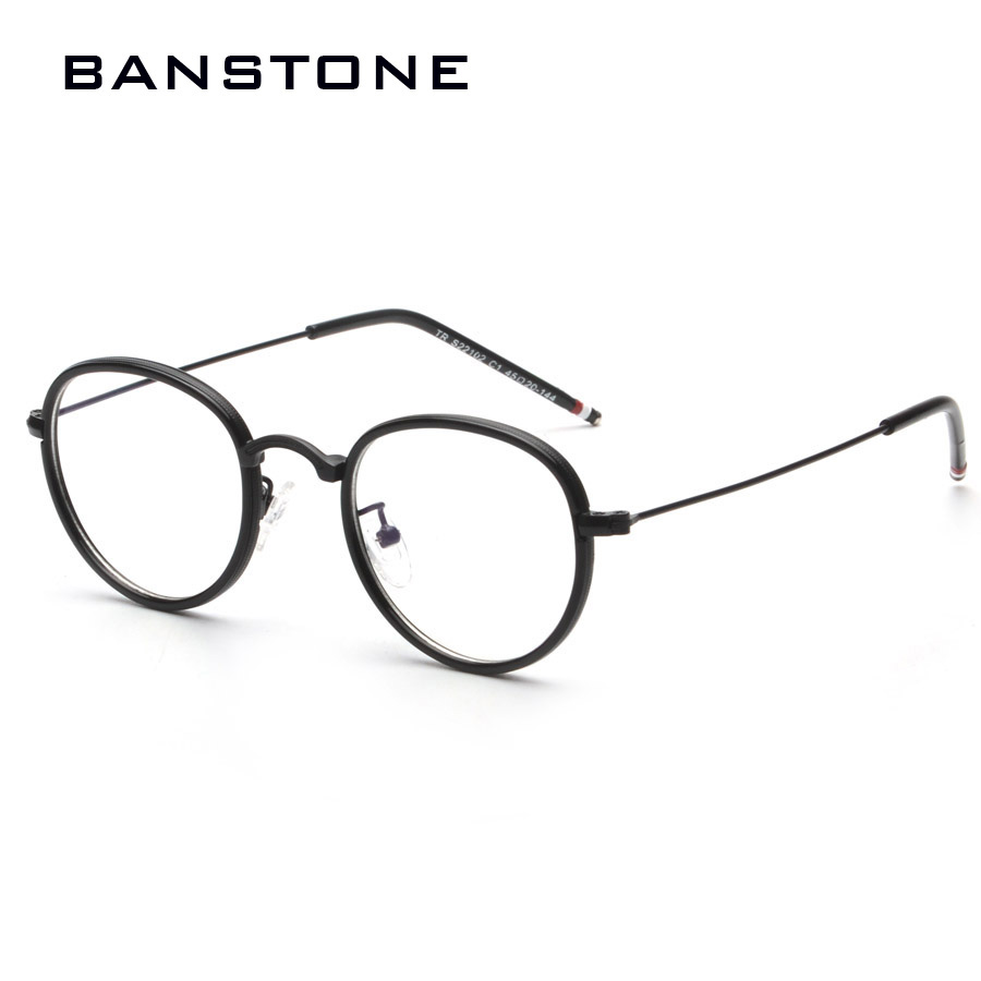 BANSTONE Vintage Grade Diamond Eyewear Frames Women Men Eye Glasses ...