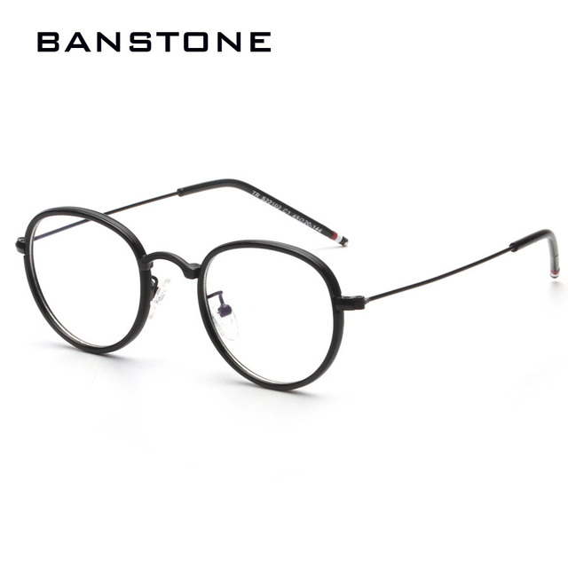 b12bba2882 BANSTONE Vintage Grade Diamond Eyewear Frames Women Men Eye Glasses Frames  Women Lady degree Optical eyeglass spectacle frame