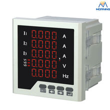 Best Buy 3UIF35 Three Phase Ammeter Voltmeter Cymometer LED Digital Voltage Ampere and Frequency 5 Lines Display Combined Meter