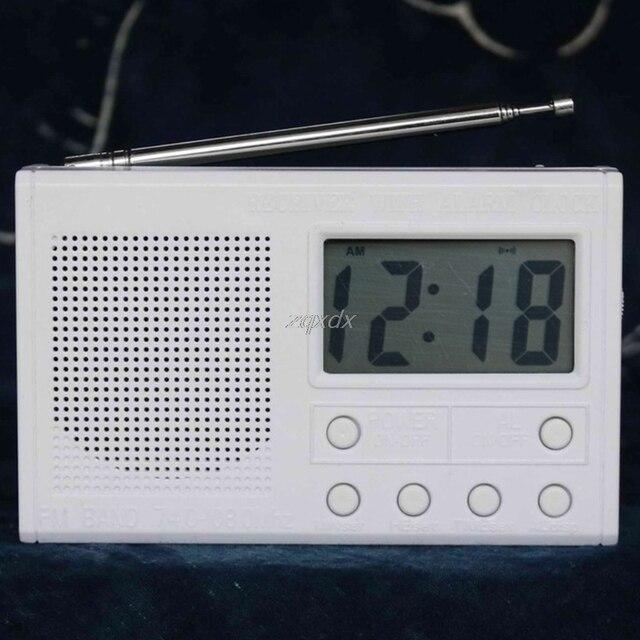 Juego de Radio FM con pantalla LCD, dispositivo electrónico de Radio FM con rango de frecuencia de 72 108,6 MHz, venta al por mayor y envío directo