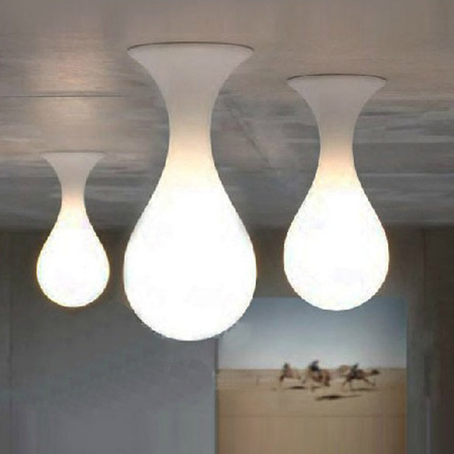 Modern led water drop ceiling light sitting room bedroom study modern led water drop ceiling light sitting room bedroom study hanging light aloadofball Images