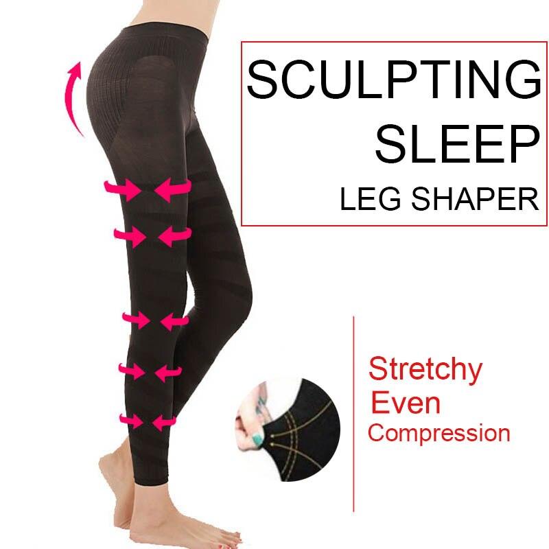 Hot Pants Vrouwen Beeldhouwen Slaap Been Shaper Legging Body Shaper Afslanken Broek Ll @ 17