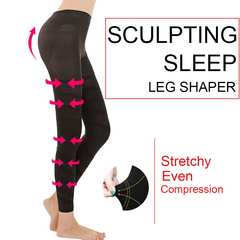 Hot Pants Women Sculpting Sleep Leg Shaper Legging Body Shaper Slimming Pants LL@17