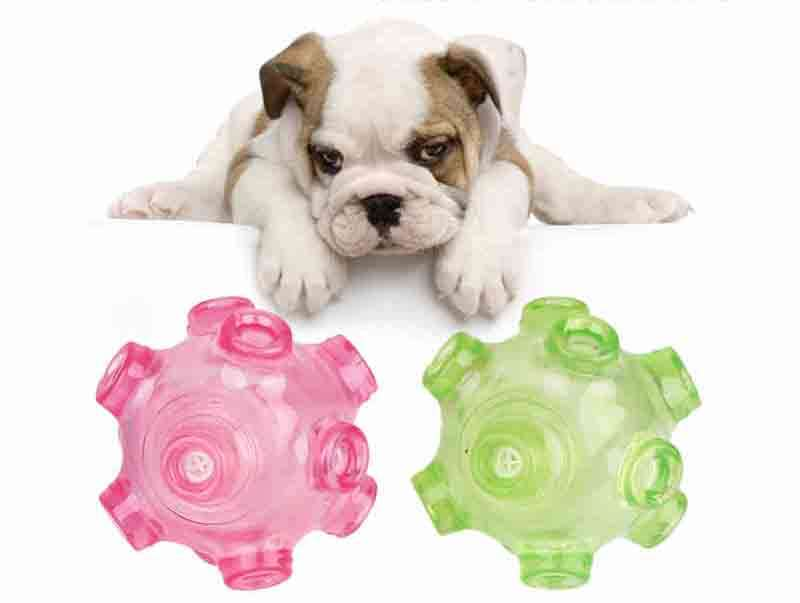 Charitable Toys Chew Grind Squeaky Ball Toy Good Safe Secure Material