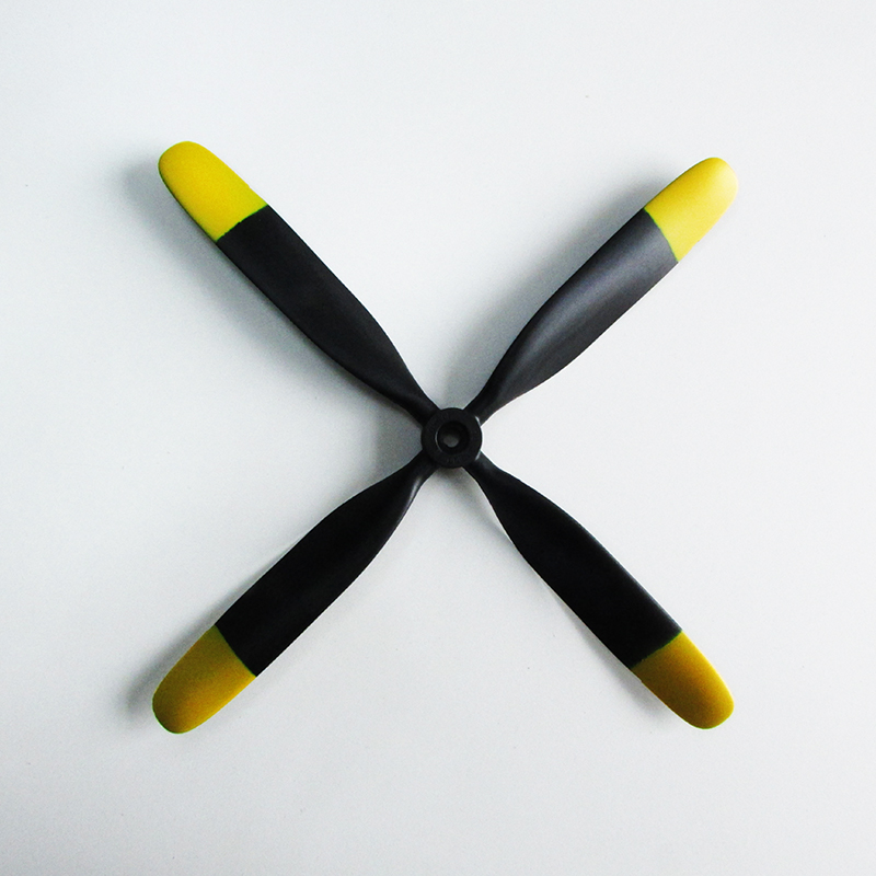 Unique Free Shipment UMM-005 Aircraft P-51 10.5*8 4 Blade Propeller DIY Hobby Spare Part For P51 Mustang Model RC Airplane lussole abruzzi lsl 7901 02
