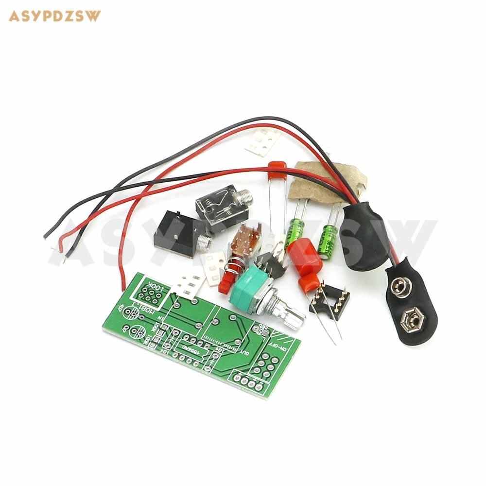 Hot Sale Jrc4556 Battery Version Ra1 Dual Channel Mini Headphone Amplifier Wiring Kit Power Diy