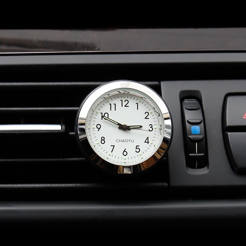 Auto stila kvarca pulksteņa gaisa atsvaidzinātāja pulksteņi - Auto salona piederumi