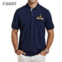 Free Shipping 2015 New Brand Slim Man Mens T Shirts Men Cotton Casual POLO Shirt Tshirts