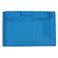 45 30 Cm Insulation Pad Heat Resistant Heat Gun Phone Soldering Station Repair Insulator Silicone Pad
