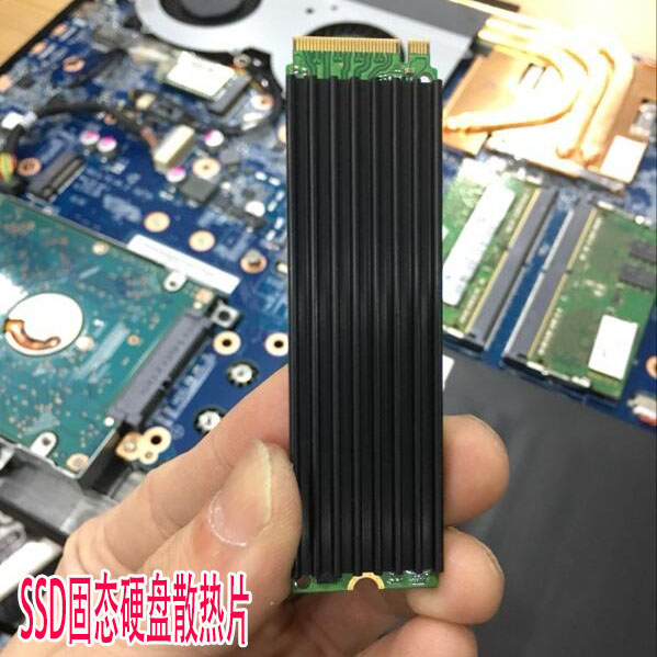 For NVME NGFF PM961 SM951 950PRO M.2 SSD solid-state hard disk General Aluminum heat sink Fin cooling silent radiator jeyi cooling warship copper m 2 heatsink nvme heat sink ngff m 2 2280 aluminum sheet thermal conductivity silicon wafer cooling