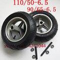 Колеса 90/65-6 5 передние или 110/50-6 5 задние обода ступицы с бескамерными вакуумными шинами для карманного велосипеда 47cc 49cc 2-тактный маленький м...