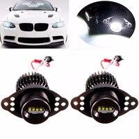 2Pcs High Quality 20W Car LED Angel Eyes Marker Halo Ring Light Bulb For BMW E90
