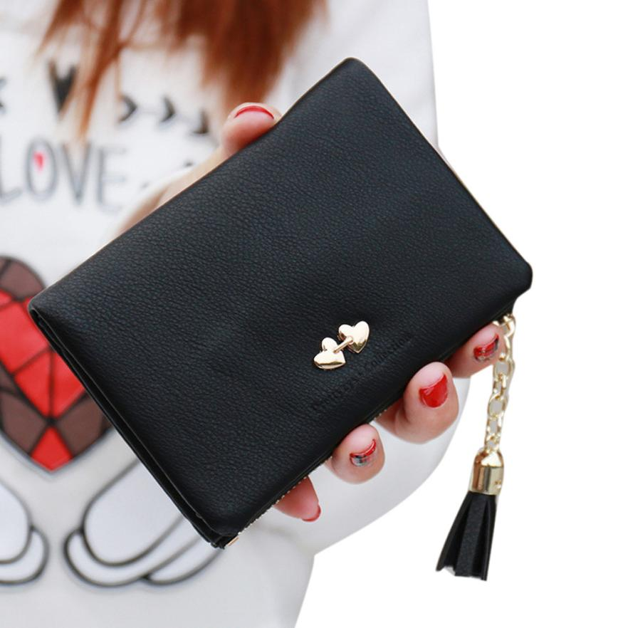 Valink 2017 Quality Women Wallet Square Women Coin Purses Holders Wallet leather Female Money Designer Tassel Wallets Carteras app blog brand women girl teenagers cute cat coin purses holders leather clutch wallet female tassel pendant money wallets