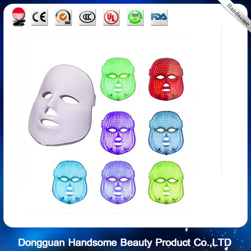 Facial sleep mask LED Light Photon Mask Skin Rejuvenation Therapy Photodynamics IPL PDT Facial 7color led mask photon light skin rejuvenation therapy facial mask ice roller stainless steel blackhead needle bend curved