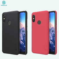 For Xiaomi Mi A2 Lite Cover Redmi 6 Pro Case NILLKIN Frosted Hard Pc Phone protector Back Cover for Xiaomi Redmi6 Pro Case