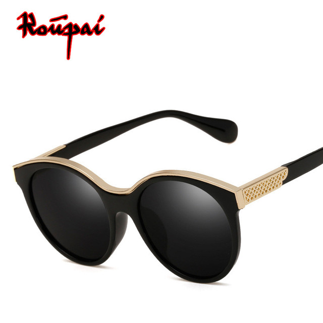 32daa9c1ab 2018 New Fashion Women Sunglasses Brand Designer Vintage Retro Round Sun  Glasses Luxury Female Shades Bayan Gozluk Gunes Gozlugu