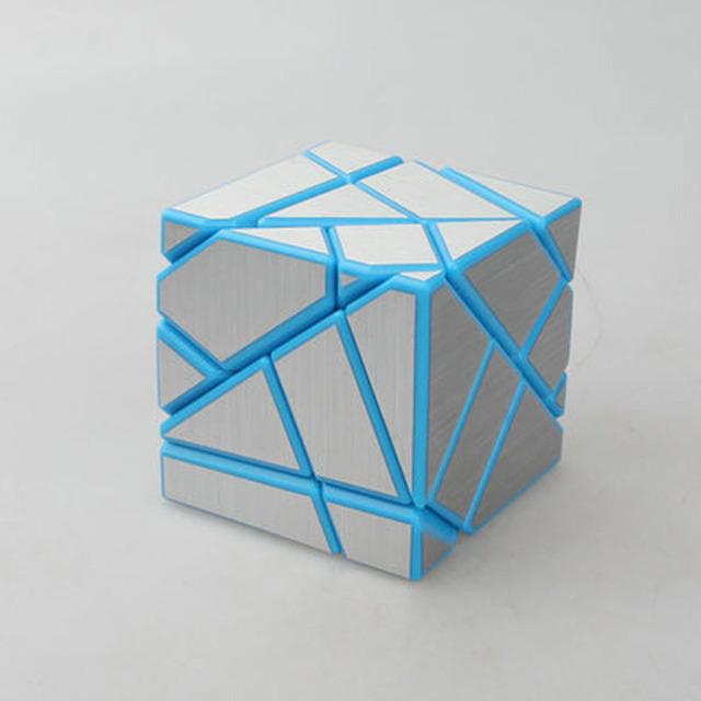 Plástico Cubo Mágico 3x3x3 Fortalecimiento Versión Cubo Mágico Colorido Clásico de Aprendizaje y Juguetes Educativos Regalo de Cumpleaños para Los Niños