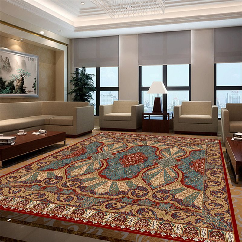 Iranian Persian Carpet Livingroom Sofa Rug Home Decor Bedroom Carpet Classic Customized Floor Mat Coffee Table Rugs And Carpets