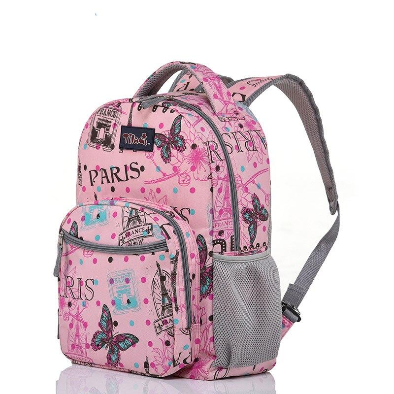 Letrend estudiante viaje Duffle rollo de equipaje Set lindo dibujos animados llevar en carro niños cabina capacidad mochila escuela - 2