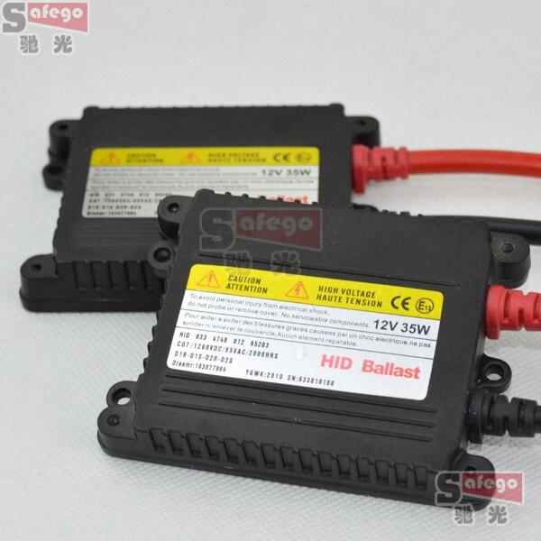 10 unids HID lastre delgado 35 W Xenon Replacement Electronic Digital lastre par