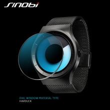 SINOBI Women's Wrist Watches 30Bar Waterproof Stainless Watchband Top Luxury Brand Female Sports Geneva Quartz Clock Saat J81