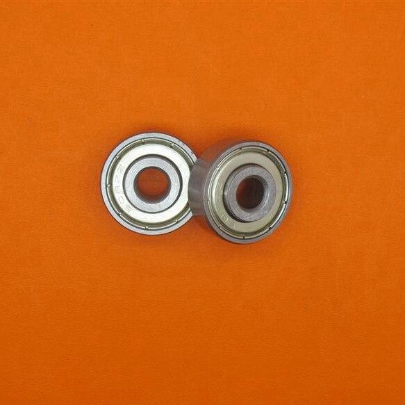 100pcs/lot   607ZZ  607-2Z  miniature shielded deep groove ball bearing  7x19x6 mm