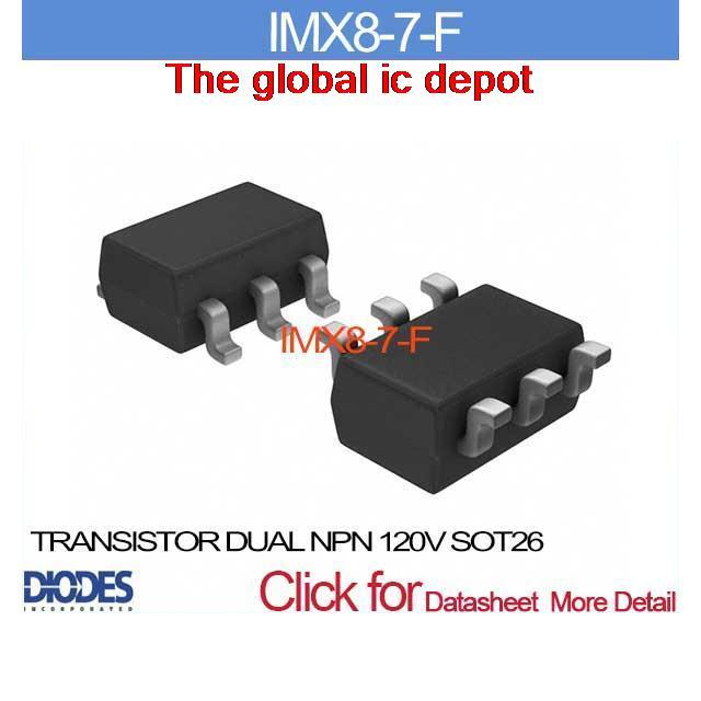 283 73 руб   Imx8 7 f транзистор двойной NPN 120 В SOT26 IMX8 8 IMX8 8 IMX8  8 купить на AliExpress