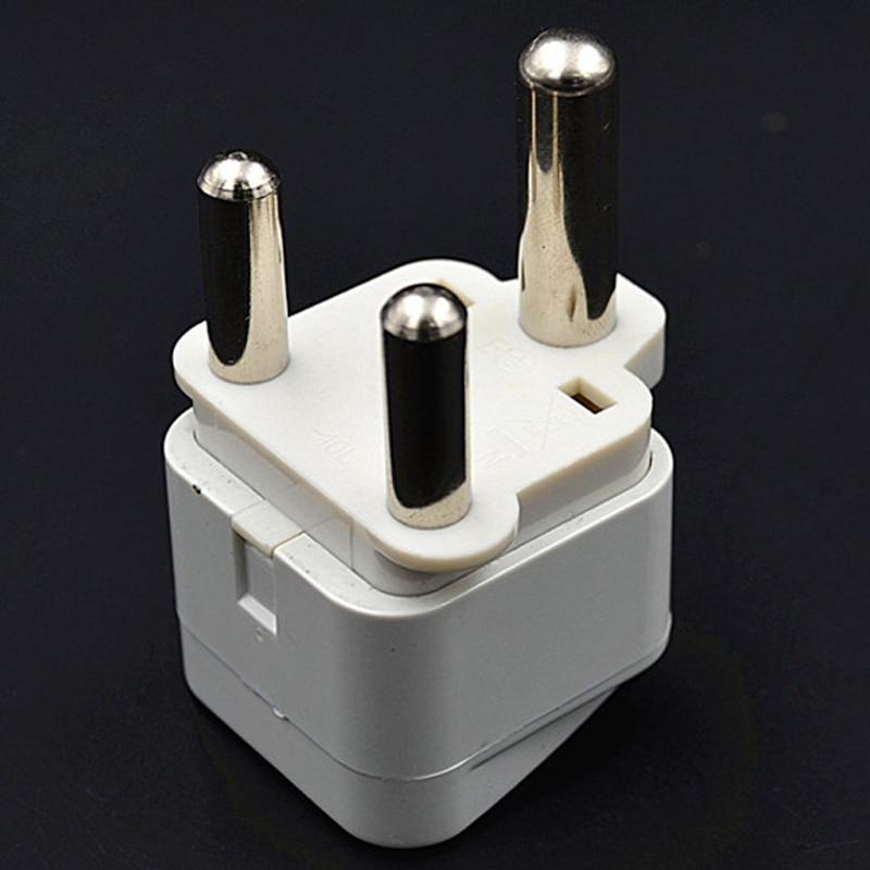 1pc White Black Large South Africa Plug Socket Cape Town