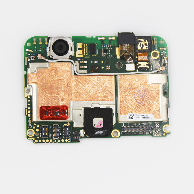 100 % UNLOCKED 128GB Work For Google Nexus 6P Mainboard Original For Google Nexus 6P Motherboard  H1511 3G RAM 128GB ROM