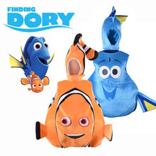2f46f01d9bd Finding Dory Costume Sea Friend Nemo and Dory Cosplay Suit Funny Clown Fish  Fancy Dress Halloween