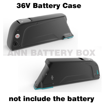 Free Shipping 36V Electric bicycle battery box E bike lithium battery case For 36V li ion