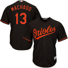 6d74eb8a0 MLB Baltimore Orioles Manny Machado Majestic Black Orange Alternate White  Home Cool Base Player Men s Baseball
