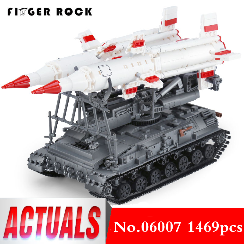 XB 06007 Военная серия модель строительные блоки SA 4 Ganef набор совместим с LegoINGLYs Развивающие игрушки для детей Подарки
