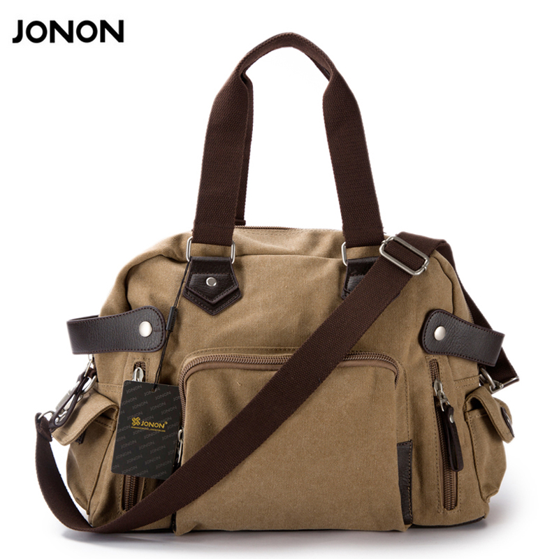 New shoulder casual bag messenger bag canvas man travel handbag for male trip/daily use,grey khaki black color free shipping