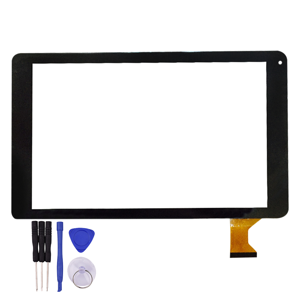 10.1 inch Touch Screen MJK-0710-FPC Tablet PC Glass Panel Digitizer Sensor Replacement White Black Free Repair Tools new for 7 yld ceg7253 fpc a0 tablet touch screen digitizer panel yld ceg7253 fpc ao sensor glass replacement free ship