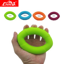 CIMA Hand Grips Rubber Muscle relex Finger Training Ring Exerciser Grip silicone Gripper Gripping equipment