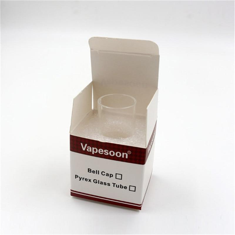 100% मूल vapesoon रिप्लेसमेंट Pyrex ग्लास ट्यूब के लिए taifun gt2 टैंक Taifun GT II 2 RDA R