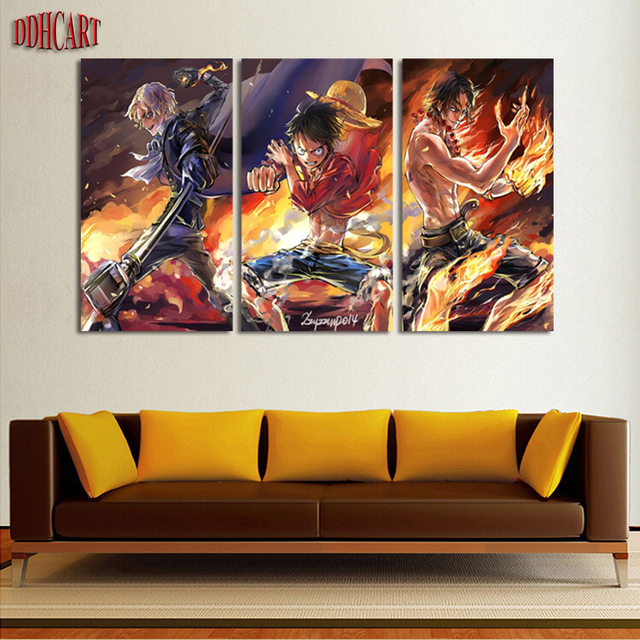 3 piece modern canvas art wall art prints painting one piece picture