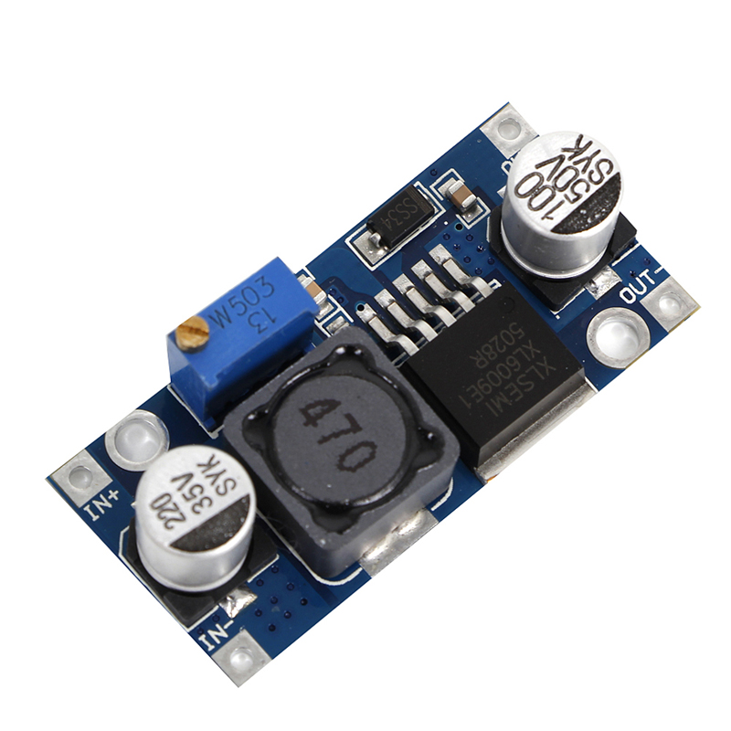 XL6009 Replace LM2577 DC-DC Adjustable Step Up Boost Converter Module Output 4A H02