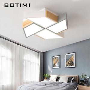 Image 3 - BOTIMI 220V LED Ceiling Lights In Windmill Shape For Living Room Lamparas de techo Bedroom Boys Room Ceiling lamp Rooms Luminare