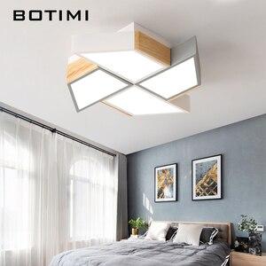 Image 3 - BOTIMI 220V LED Plafond Verlichting In Windmolen Vorm Voor Woonkamer Lamparas de techo Slaapkamer Jongens Room plafondlamp kamers Luminare