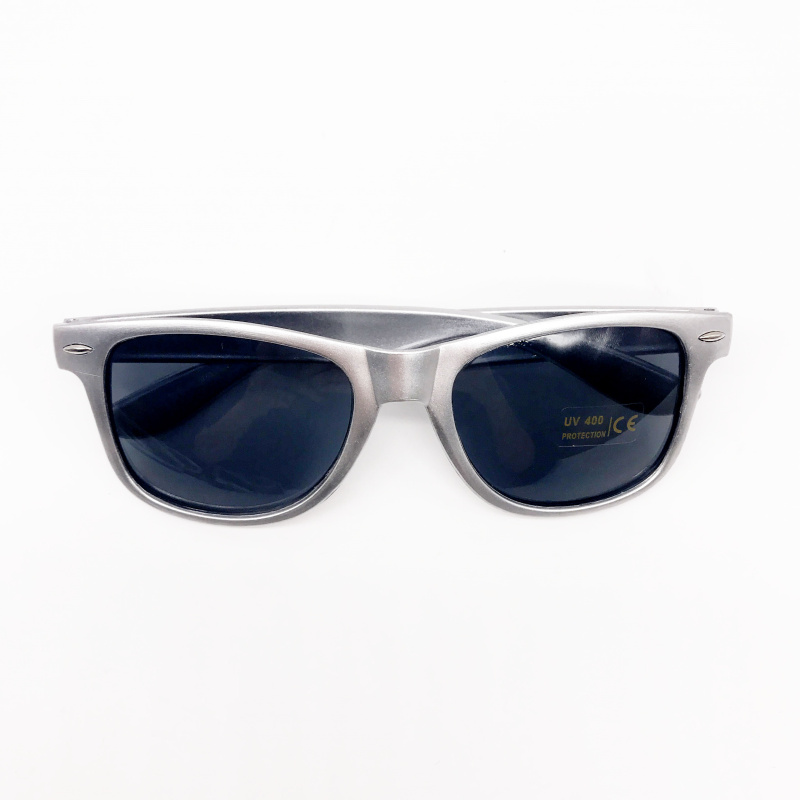 6663ed9e03 48 Pairs lot Wholesale Unisex 80 S Retro Style Bulk Lot Promotional Silver  Sunglasses Wedding Favor Personalized Party Gifts on Aliexpress.com