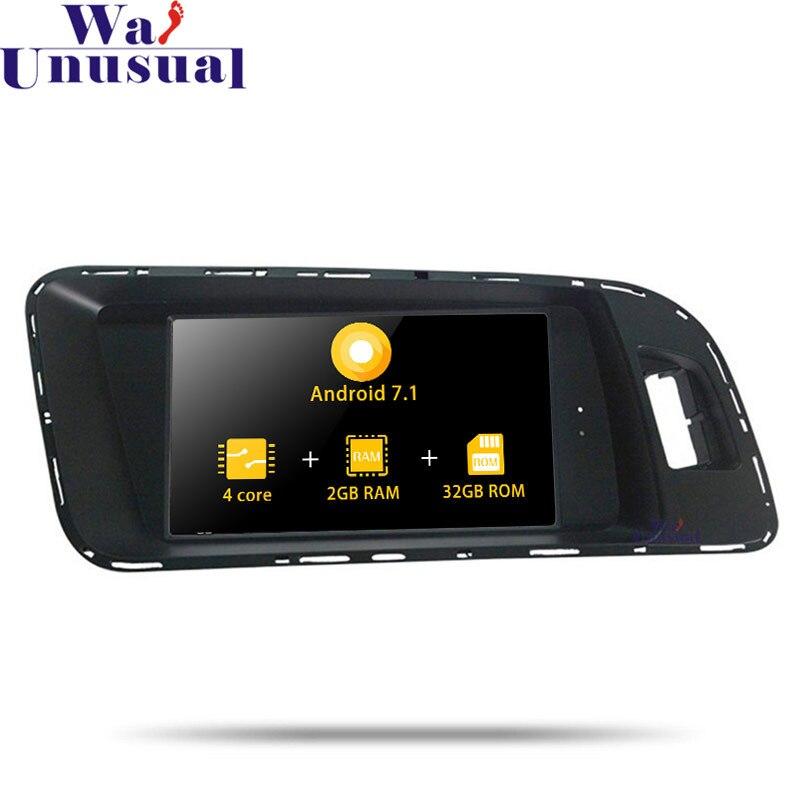 WANUSUAL Android 7.1 De Navigation De GPS de Voiture Pour AUDI A4 A5 Q5 2009 2010 2011 2012 2013 2014 2015 PAS de Lecteur DVD Auto Radio 2 Din MP4