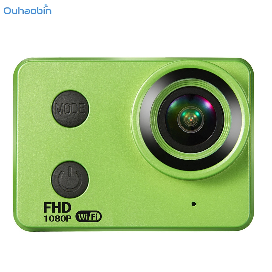 Ouhaobin 170 Degree 1080P 4K Waterproof Camcorder Shell Wifi Ultra HD Sport Cam Action DVR Camcorder Fresh Cool Camera Nov8 аккумулятор для ноутбука pitatel bt 611
