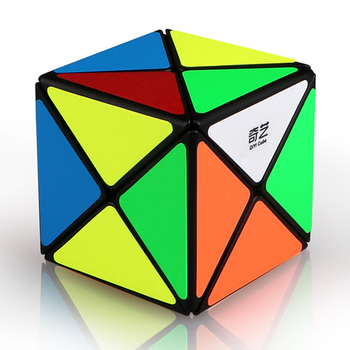 Qiyi X-shaped Magic Cube Educational Toys for Kid Brain Training Adult Playing Cube Kits Gift shengshou cube 2 x 2 x 2 mini cube black base fun educational toy
