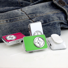 Hot Mini Clip USB MP3 Music Media Player with USB Cable Support