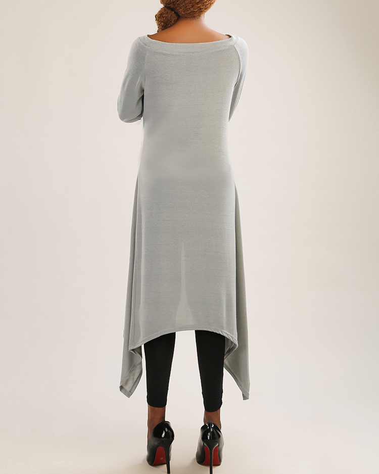 lange trui als jurk
