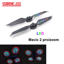 STARTRC DJI Mavic 2 pro Flash LED propellers Low Noise Quick Release Propellers For DJI Mavic 2 pro/zoom drone USB Charger