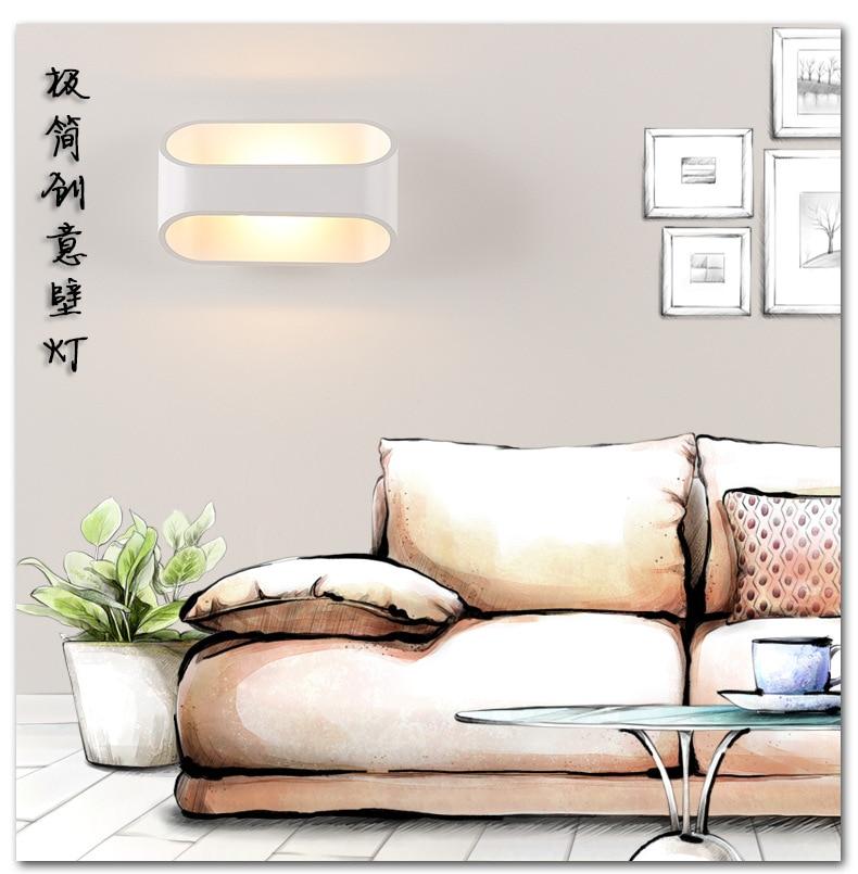 LED divar çıraqları 3W 5W 10W AC85-265V Müasir sadə yataq - Daxili işıqlandırma - Fotoqrafiya 5