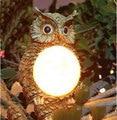 solar LED lamp Waterproof outdoor garden Creative solar owl light Landscape lighting guirlande solaire